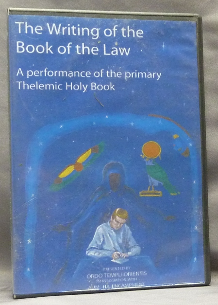 The Writing of the Book of the Law, A Performance of the Primary Thelemic Holy Book [ DVD in case ]. Aum Ha Encampment, OTO, Aleister Crowley related.