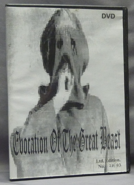 Evocation of the Great Beast [ DVD in case ]. Nation of Wizards, Mongoose Productions, Aleister Crowley related.