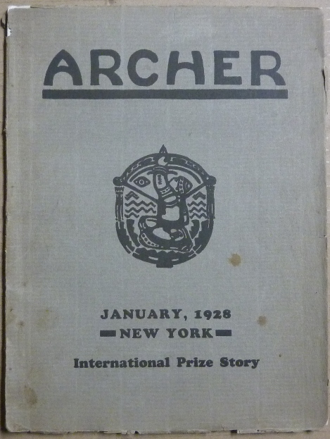 Archer, Publication of the Society of Friends of the Roerich Museum. Vol. II, January, 1928, No. 1 [ New York - International Prize Story ]. Nicholas ROERICH, Society of Friends of the Roerich Museum.