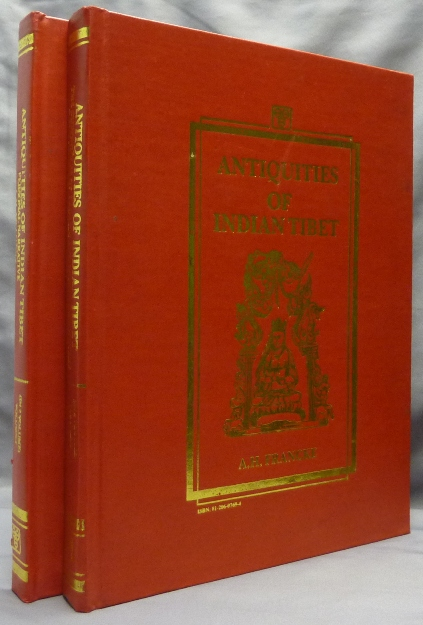 Antiquities of Indian Tibet. Part I: Personal Narrative, Part II: The Chronicles Of Ladakh And Minor Chronicles, Texts and Translations, with Notes and Maps (Two Volumes). Ladakh, A. H. FRANCKE.