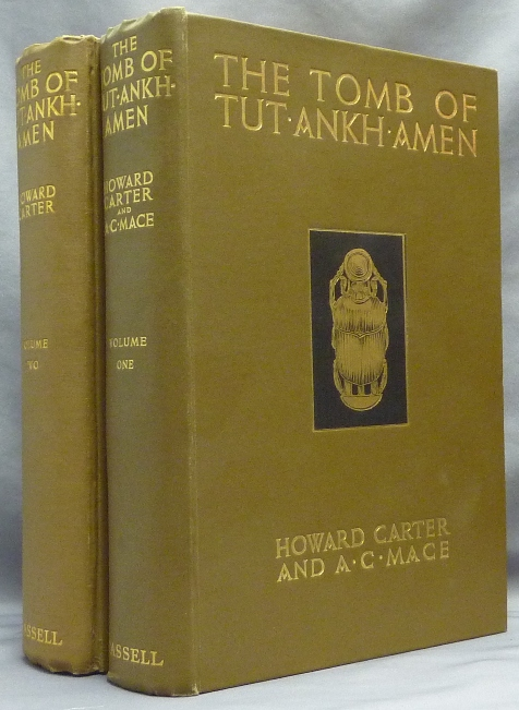 The Tomb of Tutankhamen. Discovered by the Late Earl of Carnarvon and Howard Carter, Volumes I and II (2 Volumes) [ Tut Ankh Amen ]. Howard CARTER, A. C. Mace, A. Lucas Douglas E. Derry, Ander Scott, P. E. Newberry, H J. Plenderleith. Illustrations from, Harry Burton, A. C. Mace.