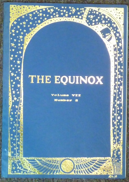 The Equinox / The British Journal of Thelema : Volume VII, No. 2. Jake STRATTON-KENT, Trevor Langford, Penny Langford -, Aleister Crowley - related works.