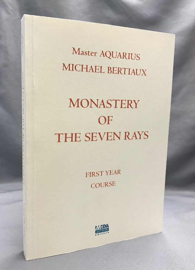 """Monastery of the Seven Rays First Year Course. The Gnostic Teaching of Michael Bertiaux Lessons of the Inner Retreat of the Monastery of the Seven Rays Introduction to Occultism and Astral and Luciferian Magnetism and Voodoo; Series """"Una Stella un Vista"""" Michael - BERTIAUX, . Revised, Roberto Migliussi, Master Aquarius."""