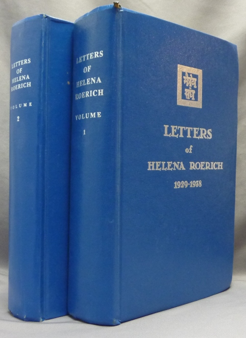 Letters of Helena Roerich 1935-1939. Volume I and II (Two volumes). Helena ROERICH.