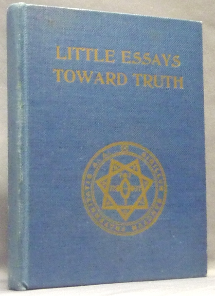 Aleister crowley little essays towards truth sample research paper intros