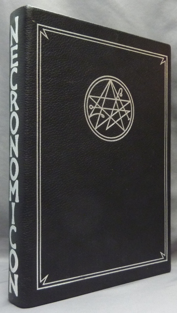 The Necronomicon. Necronomicon, Signed, numbered, Edits SIMON, Introduces, a new Preface.