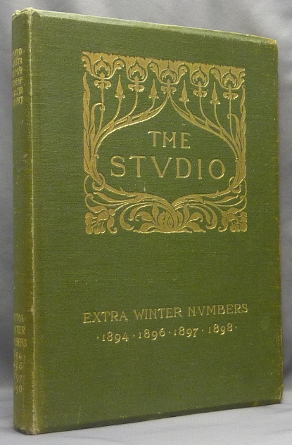 The Studio, An Illustrated Magazine of Fine and Applied Art - Extra Winter Numbers for 1894-1895, 1896-1897, 1897-1898 & 1898-1899. Book-Plates, Gleeson WHITE, Gerald Kelly related Aleister Crowley.