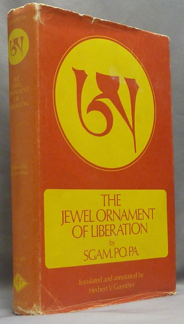 Jewel Ornament of Liberation; Clear Light series. Tibetan Buddhism, SGAM. PO. PA, Herbert Guenther.