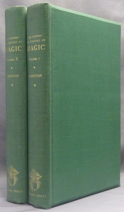 The History and Practice of Magic ( 2 Volumes ). Jean Baptiste, Christian Pitois, Paul . CHRISTIAN, James Kirkup, supplementary Ross Nichols, Mir Bashir Charles Richard Cammell, Julian Shaw, Margery Lawrence, Gerald Yorke, Edited Julian Shaw.