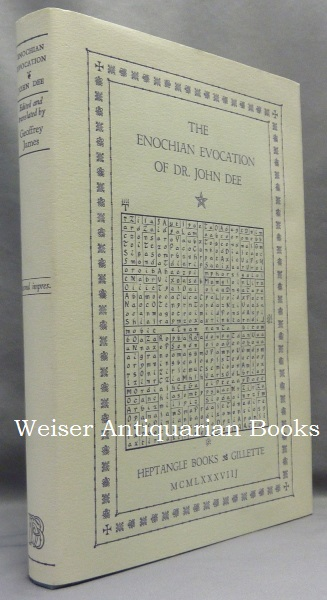 The Enochian Evocation of Dr. John Dee. Heptangle Books, Edited and, Geoffrey James, John DEE.