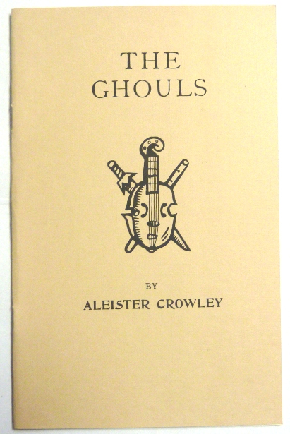 The Ghouls, Croquis de Croque-Mitaine. Aleister CROWLEY.