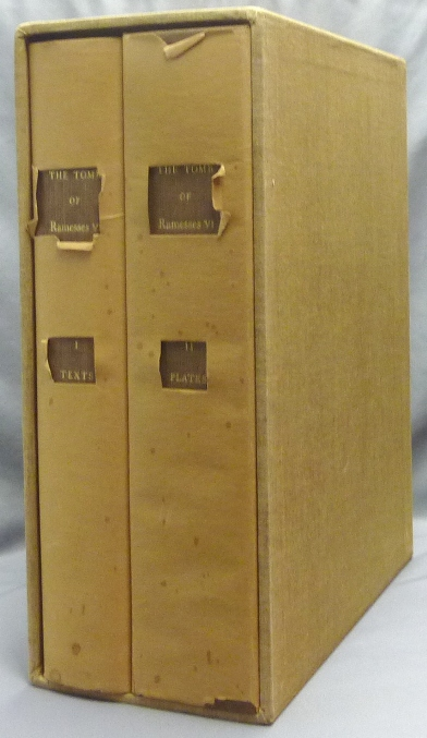 The Tomb of Ramesses VI Texts and Plates Bollingen Series XL. Vol. 1. Egyptian Religious Texts and Representations. ( 2 Volumes in slipcase ). Alexandres PIANKOFF, Translations, introductions. N. Rambova.