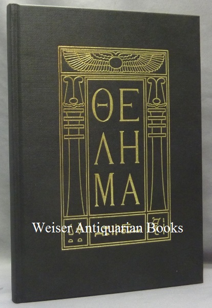 Thelema [ lettered in Greek ] ( The Holy Books ). Aleister CROWLEY.