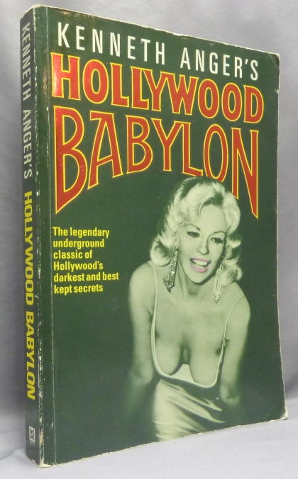 Hollywood Babylon. Kenneth - ANGER, From the David Tibet collection.