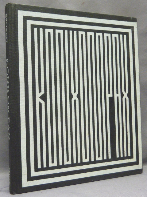 Konx Om Pax. Essays in Light. Aleister CROWLEY, Martin P. Starr, From the David Tibet collection.