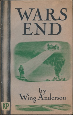 War's End, including Cudmore's Prophecy of the Twentieth Century. Wing ANDERSON