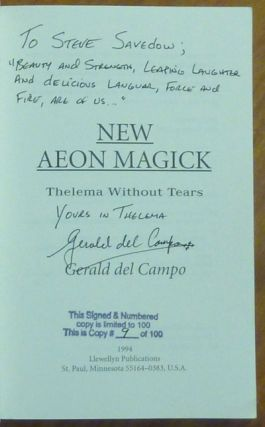 New Aeon Magick. Thelema Without Tears.
