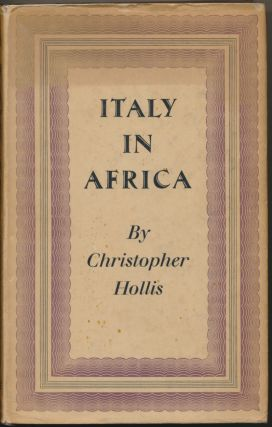 Italy In Africa. Christopher HOLLIS