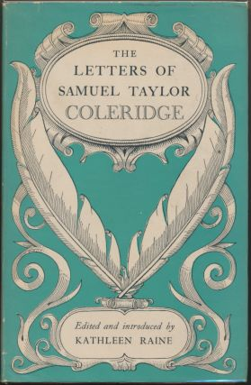 The Letters of Samuel Taylor Coleridge. edits, Introduces