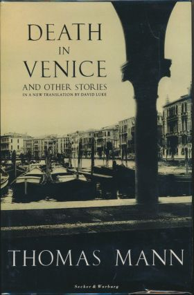 Death in Venice and Other Stories. Translated, David Luke