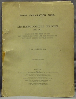 Egypt Exploration Fund ] Archaeological Report. Comprising the Work of the Egypt Exploration Fund...
