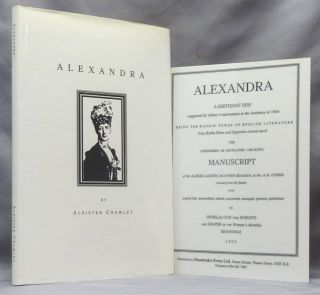 Alexandra. Aleister CROWLEY, Keith Richmond, Anthony Naylor