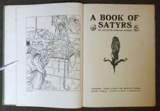 A Book Of Satyrs.