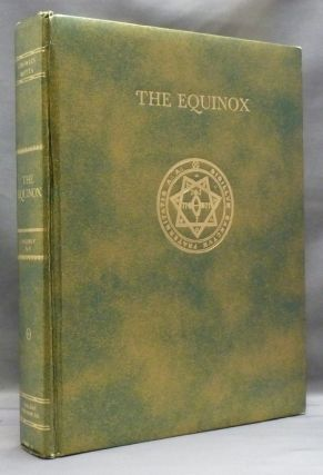 The Equinox. Vol. V, No. 2; The Official Organ of the A. A. The Review of Scientific Illuminism