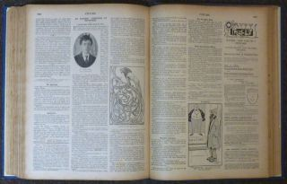 Chums - Bound volume of 52 issues: #571 (August 19, 1903) - #622 (August 10, 1904).