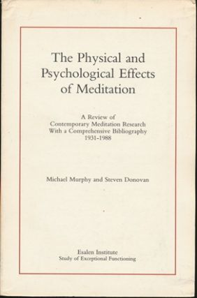 The Physical and Psychological Effects of Meditation: A Review of Contemporary Meditation...