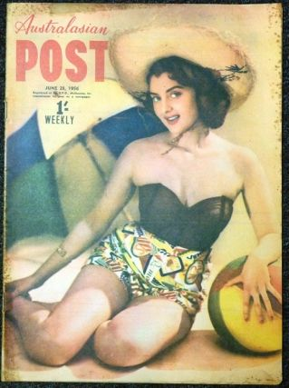 "An article, ""Grey Magic Peril"" in ""Australasian Post,"" June 28, 1956. Gordon WHITFORD"