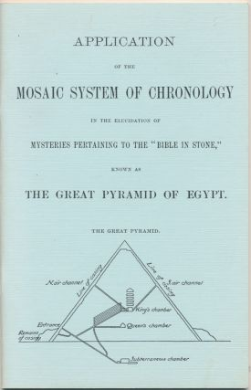 Application of the Mosaic System of Chronology in the Elucidation of Mysteries pertaining to the...