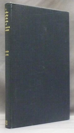 A Bibliography of the Works of Montague Summers. Montague Summers, Timothy D'ARCH SMITH, Father...