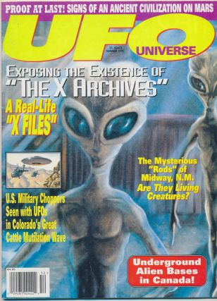 UFO Universe - Vol.5, No.2, Summer 1995. Timothy Green BECKLEY