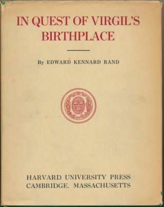 In Quest of Virgil's Birthplace. Edward Kennard RAND