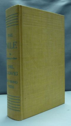The Nile: The Life-Story of a River. Emil LUDWIG, Mary H. Lindsay