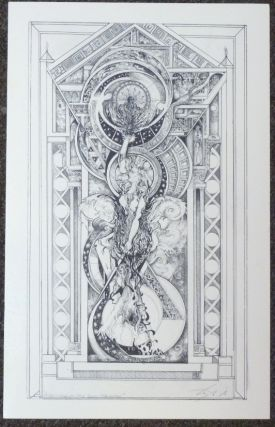 "A signed, limited-edition print of an original tarot design ""Pilgrimage of the Soul / The World""..."