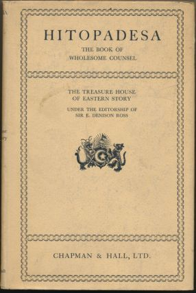 Hitopadesa: The Book of Wholesome Counsel; [ The Treasure House of Eastern Story ]. Francis...