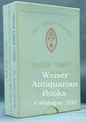 Aleister Crowley Thoth Tarot Deck. First Color Printing. [ Tarot Cards ]. Aleister CROWLEY, Frieda Harris.
