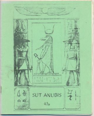 Sut Anubis - Vol.2, No.2. Anonymous, related works Aleister Crowley