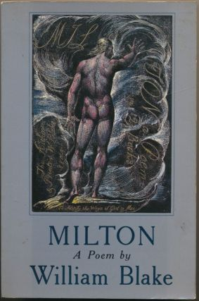 Milton: A Poem. Edited with, Kay Parkhurst Easson, Roger R. Easson