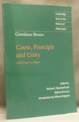 giordano bruno essay Find helpful customer reviews and review ratings for essays on giordano bruno at amazoncom read honest and unbiased product reviews from our users.