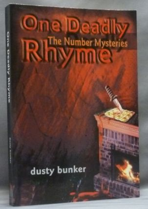 One Deadly Rhyme: The Number Mysteries. Dusty. Signed BUNKER