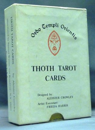 Thoth Tarot Cards ( First US Color Printed Version - Samuel Weiser Issue ) [ Tarot Deck ]. Aleister CROWLEY, Frieda Harris.
