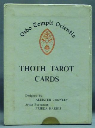 Thoth Tarot Deck. ( First US Color Printed Version - Llewellyn Issue ) [ Tarot Cards ]. Aleister CROWLEY, Frieda Harris.