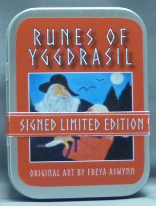 Runes of Yggdrasil [ Boxed set, cards and booklet ]. Freya ASWYNN, Signed.