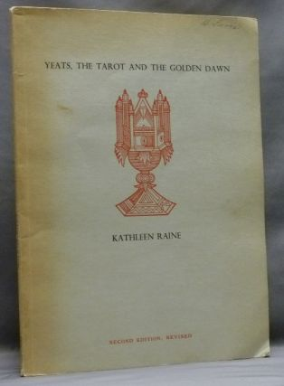 Yeats, The Tarot And The Golden Dawn; New Yeats Papers II. Kathleen RAINE, Signed, Liam Miller Gen.