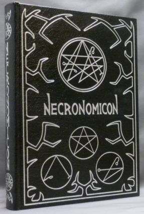 The Necronomicon. SIMON, Edits and Introduces, L. K. Barnes James Wasserman, Signed.