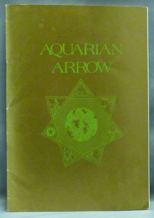 Aquarian Arrow, No. 31. Zachary COX, contributors, Steve Wilson related Aleister Crowley