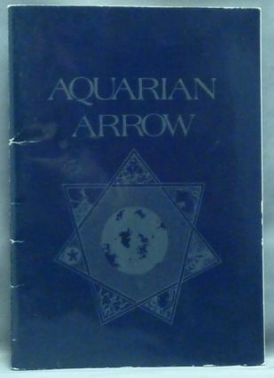 Aquarian Arrow, No. 21. Zachary COX, contributors, Aleister Crowley related